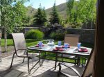 Furnished Patio with Water Feature, Mountain Views